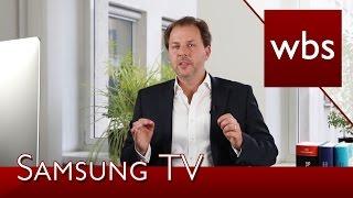 Datenschutz: Verbraucherschützer verklagen Samsung | Rechtsanwalt Christian Solmecke
