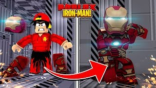 ROBLOX -  BECOMING THE REAL IRON-MAN!!