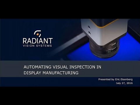 Automating Visual Inspection in Display Manufacturing