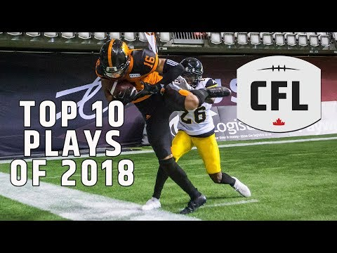 CFL Top 10 Plays of 2018