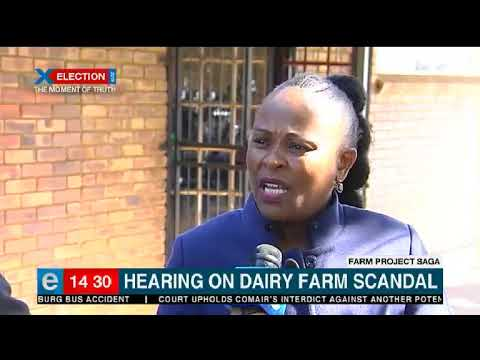 Public Protector holding public hearing on Estina Vrede Dairy Farm scandal