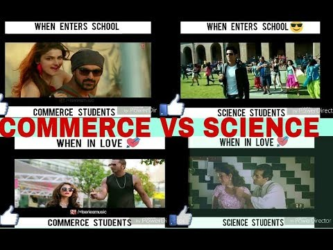 Science VS Commerce student 2 - school stories on bollywood style 2018