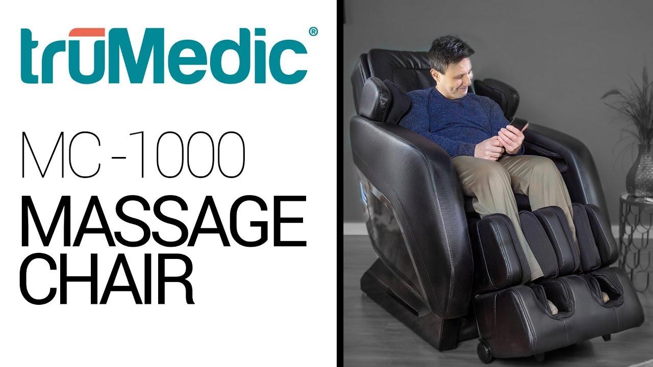 4a880a352 truMedic MC-1000 Massage Chair - YouTube