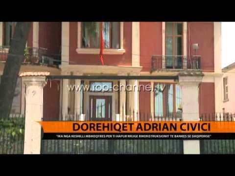 Dorëhiqet Ardian Civici - Top Channel Albania - News - Lajme