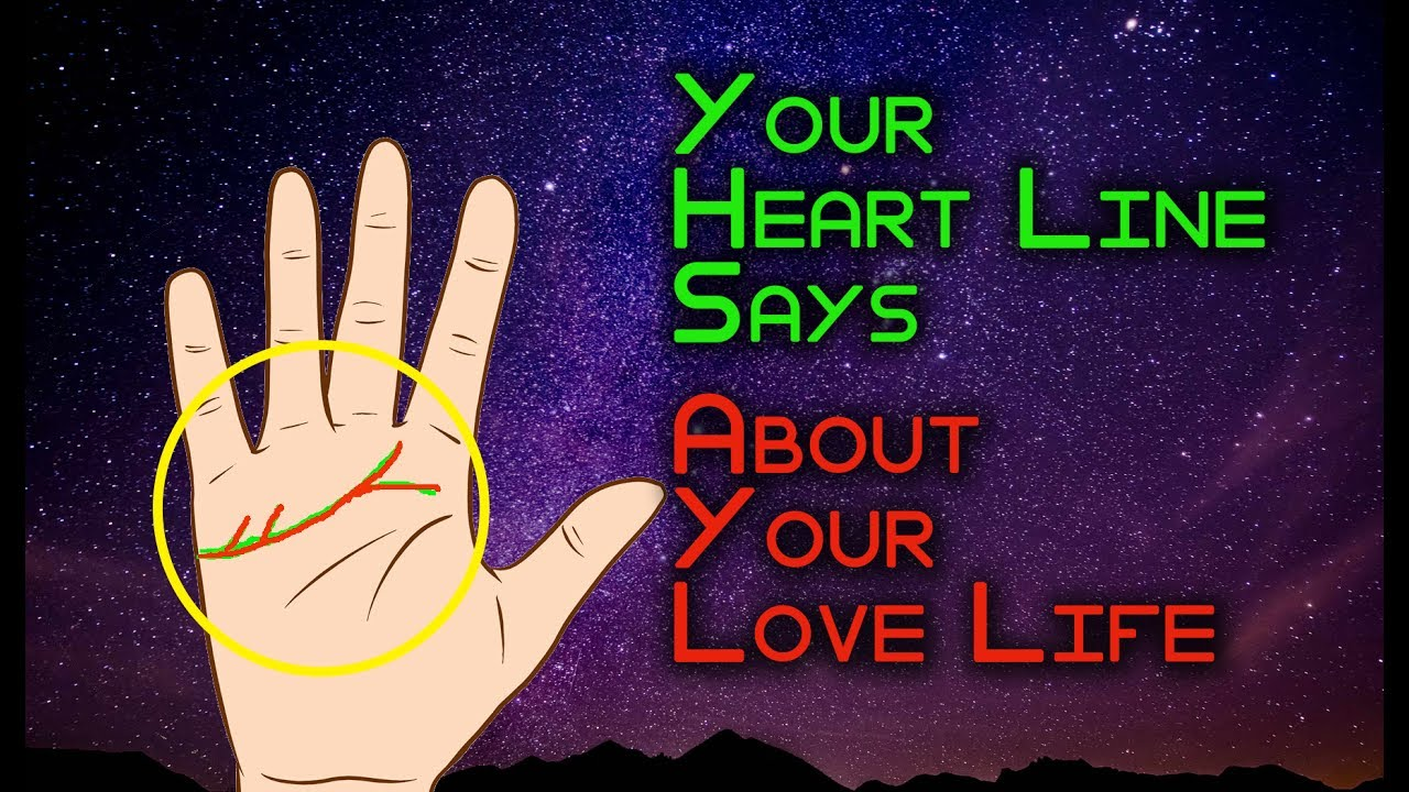 Heart line says about your love life | Effect of Branches, Forks and Island  in Heart Line