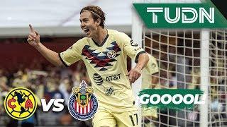 ¡Doblete de Córdova! | América 2 - 0 Guadalajara | Liga MX - Apertura 2019  - Jornada 12 | TUDN
