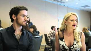 jennifer morrison and colin o donoghue at 2015 san diego comic con