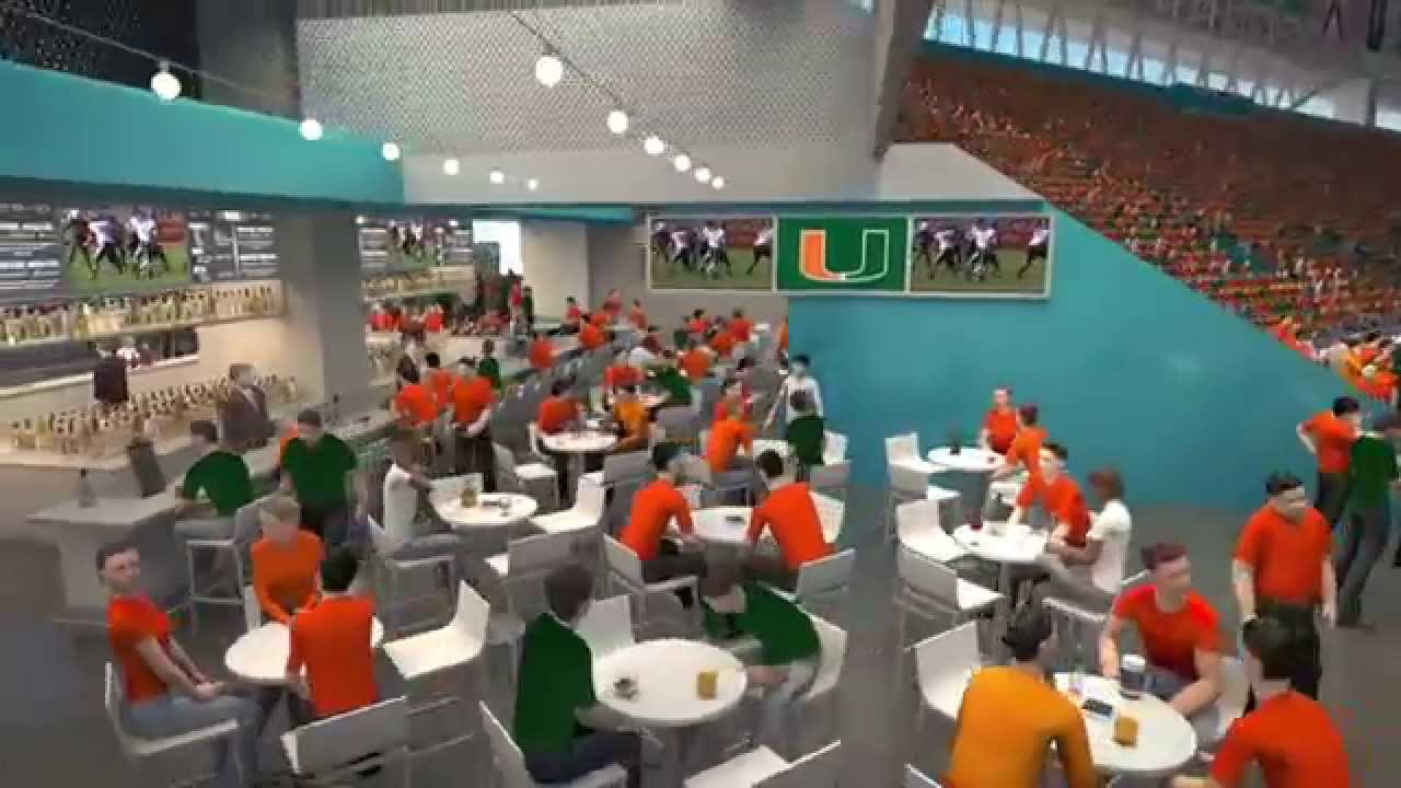 Miami Hurricanes Football Welcome To The New Sun Life