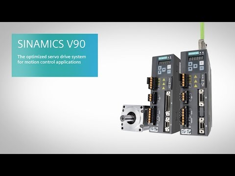SINAMICS V90 - Servo drive system for motion control applications