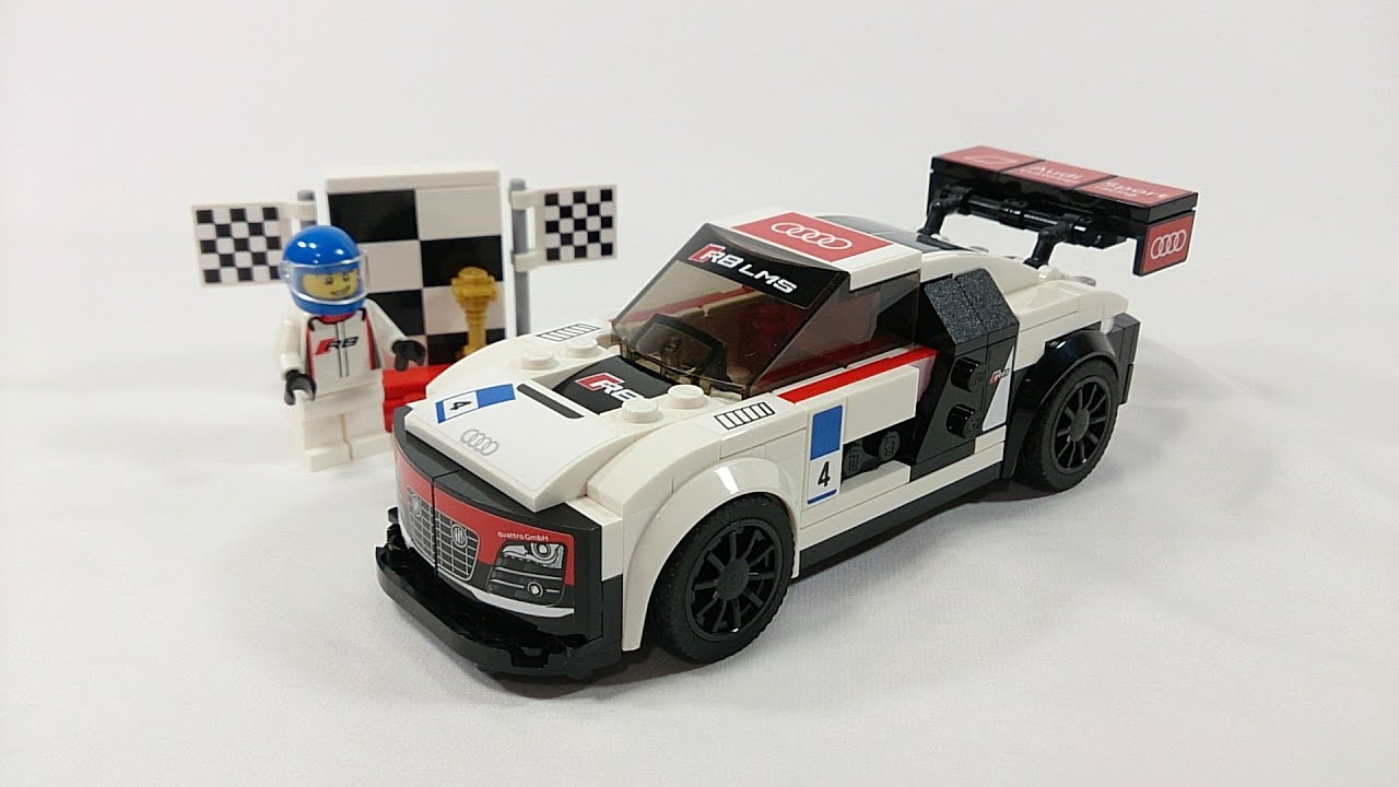Lego Speed Champions 2016 Audi R8 Lms Ultra Review Set