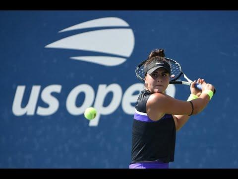 Bianca Andreescu Vs Kirsten Flipkens   US Open 2019 R2 Highlights