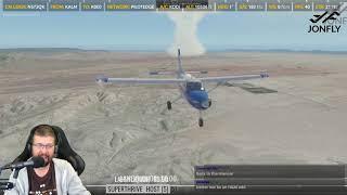 Kodiak Quest G1000 by Thranda - FSEconomy in  New Mexico Part 2 of 2 X-Plane