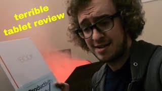 PETER REVIEWS: Lenovo Yoga Book Drawing Tablet