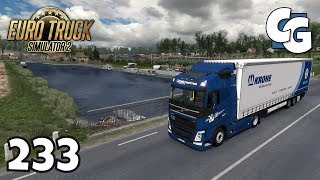 ETS2 - Ep. 233 - How low can you go? (Lowdeck Chassis + Krone Mega Liner)