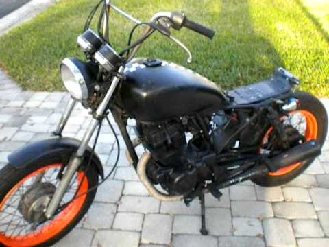 1994 Honda Nighthawk 250 Bobber Youtube
