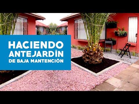 C mo hacer un antejard n de baja mantenci n youtube for Como hacer un jardin interior en casa