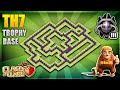 INSANE BRAND NEW TOWN HALL 7 (Th7) TROPHY PUSHING/DEFENCE BASE-Clash Of Clans New Update June 2018