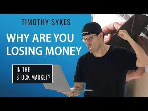 Why Are You Losing Money In The Stock Market?