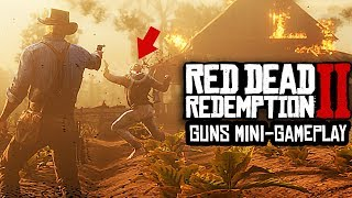 Red Dead Redemption 2 - NEW MINI GAMEPLAY, 50+ GUNS, HUGE CUSTOMISATION OPTIONS!