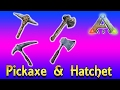 ARK Survival Tips - #1 - Pick And Hatchet