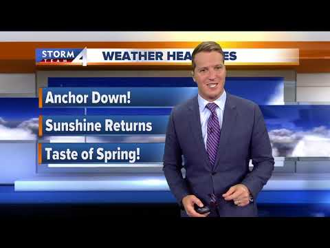 Sunshine returns but windy Sunday
