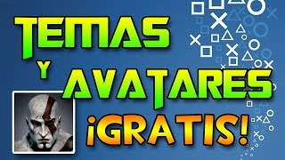 Temas y Avatares totalmente gratuitos para PlayStation 3.