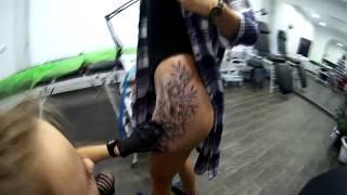 Малая бьёт татухи Тату на твоём теле Lynx Tattoo