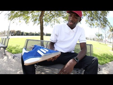 100 Kickflips In The Adidas 3ST.004 With Donta Hill