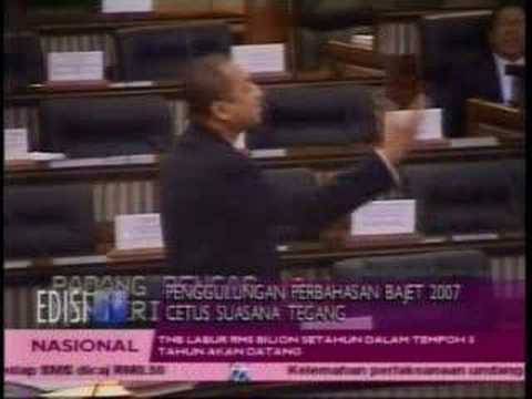 Malaysian Parliament Word Fights