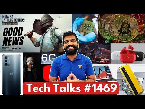 Tech Talks #1469 - BGMI Big Good News, Nord N200, 6G Launch, Realme GT India, Fake Chipsets, Bitcoin