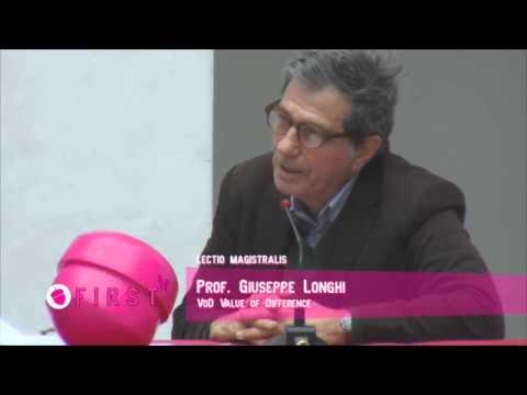Lectio magistralis prof. Giuseppe Longhi - FIRST