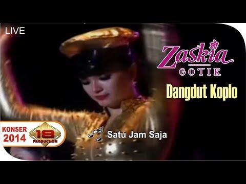 ZASKIA GOTIK - SATU JAM SAJA | HEBOH BANGETT .. (LIVE KONSER SUMATERA BARAT 8 FEBRUARI 2014)