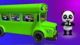 Колеса на автобусе | детские стишки | Baby Bao Panda | Rhymes For Kids & Babies | Wheels On The Bus