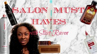 Must Haves For Healthy Hair | Salon Grabs | Stylist Raven | Texas Hairstylist