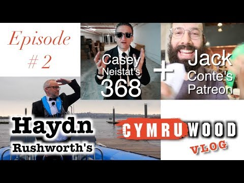 Haydn Rushworth Vlog #2 - Casey Neistat's 368 and Jack Conte's Patreon
