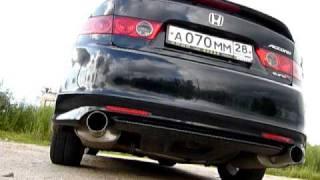 Fujitsubo Exhaust Honda Accord CL7 EuroR (Acura TSX)