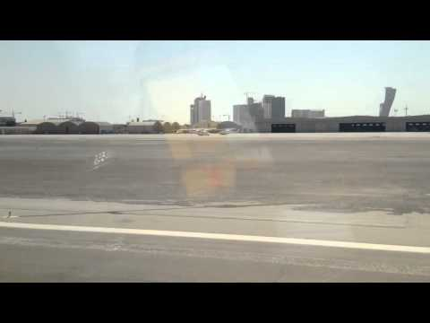 Take off from Abu Dhabi Executive Airport