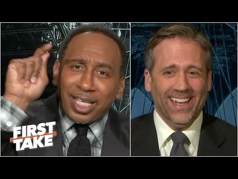 'You have betrayed New Yorkers!' - Stephen A. tells off former Knicks fan Max Kellerman | First Take