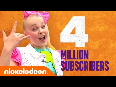 THANK YOU for 4 Million Subscribers 🎉 ft. JoJo Siwa, the Merrell Twins, Lilimar & More 🎊 | Nick