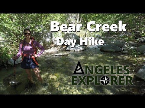Bear Creek Day Hike San Gabriel River