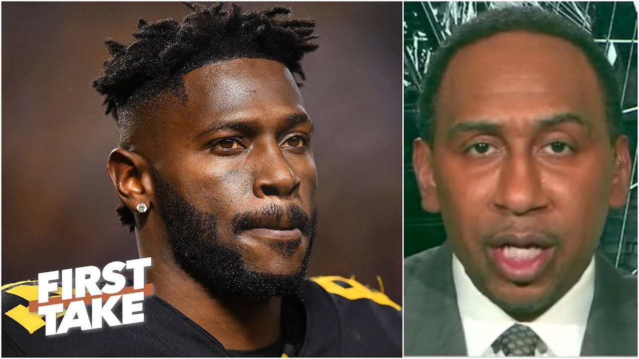 Icon Sports: Steven A. reacts to haters saying Antonio Brown isn't a good fit for the Bucs