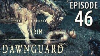 Skyrim: Dawnguard Walkthrough in 1080p, Part 46: Plunging into Darkfall Cave (in 1080p HD)