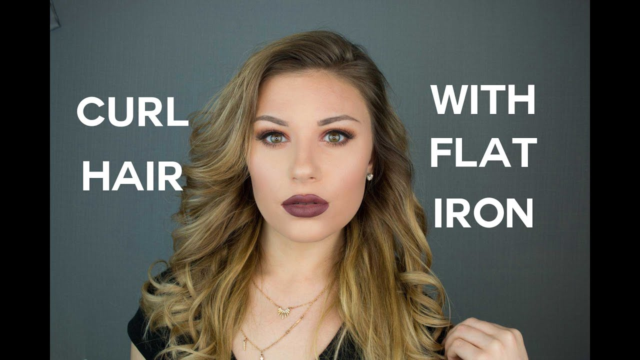 How to Curl Your Hair with a Chi Flat Iron