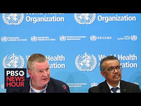 WATCH LIVE: The World Health Organization gives coronavirus update -- April 6, 2020