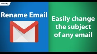 free change your email subject line with rename email