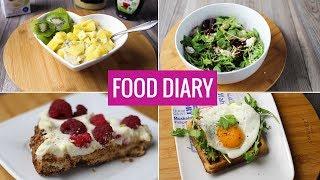 Fit Food Diary - co jem w ciągu dnia? | Codziennie Fit