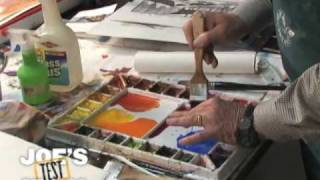 Mixing Colors and Avoiding Mud : Watercolor Demonstrations