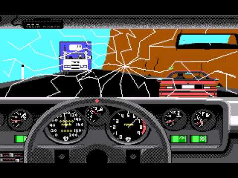 Test Drive Dos 1987 Youtube