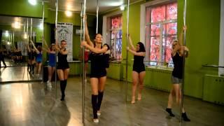 Видео уроки POLE DANCE пол дэнс (проект RPD Strekoza) выпуск № 2