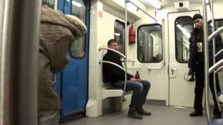Футбол в метро